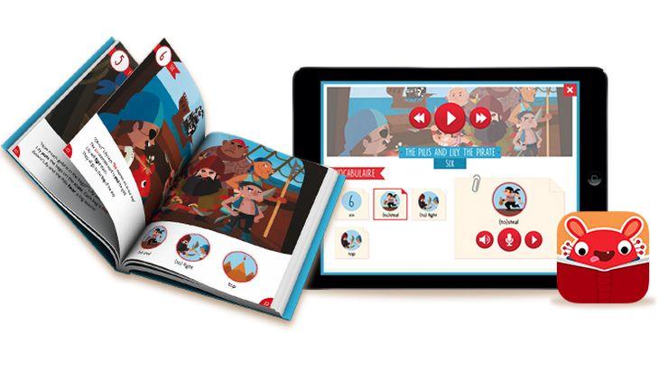 Avec Pili Pop, apprends à parler en anglais avec un livre et une application