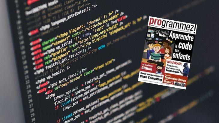 Dossier «Apprendre le code aux enfants» dans le mag Programmez !