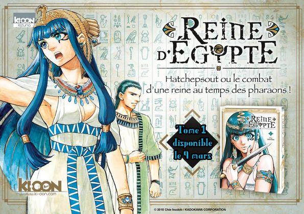Reine d'Egypte - ki-oon