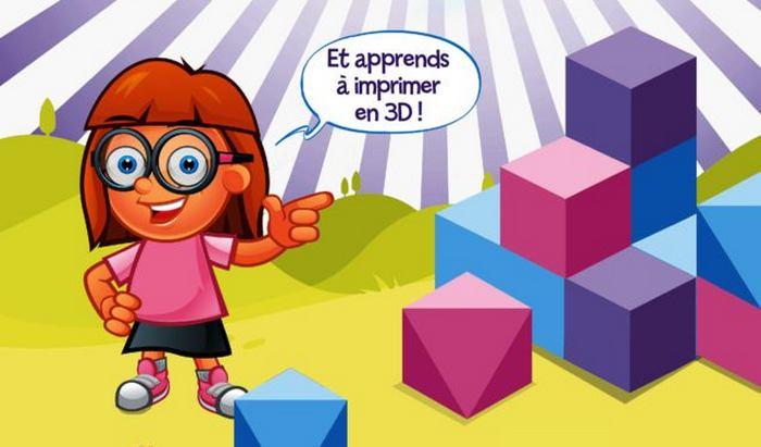 «La 3D pour les Kids» : découvre comment imprimer en 3D !