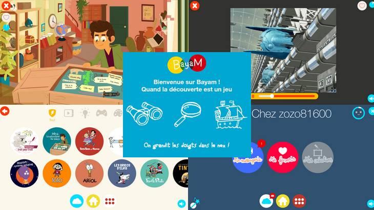 Bayam, une application ludoéducative pour les 3 – 11 ans pour découvrir et se divertir
