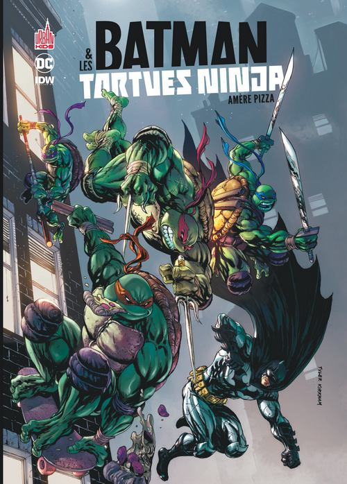 Batman & Les Tortues Ninja : le tome 1 arrive