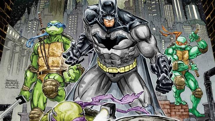 Batman & les Tortues Ninja : la série de comics se lance le 10 février 2017