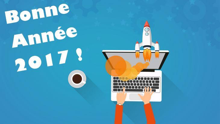 Bonne année 2017 à tous les geeks !