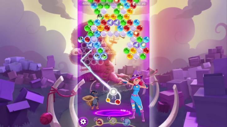 Bubble Witch 3 Saga disponible sur Android, iOS et Facebook