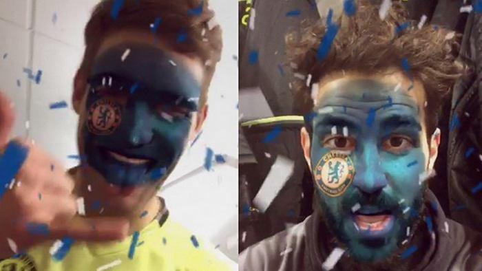 Filtres Snapchat Chelsea