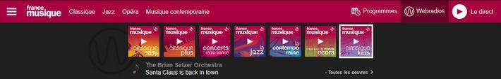 France Musique Webradios