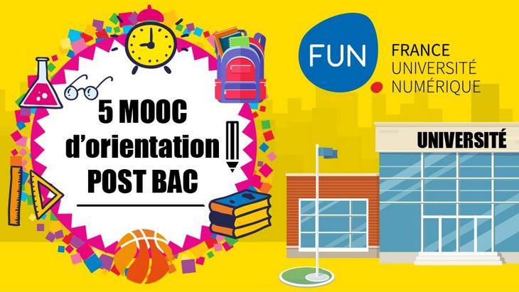 5 MOOC d'aide à l'orientation post-bac pour les lycéens