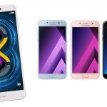 Honor 6x - Samsung Galaxy A3 - A5 - A7