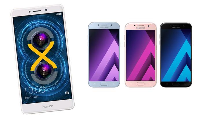 CES 2017 : les Samsung Galaxy A3, A5 et A7 et Honor 6X se lancent