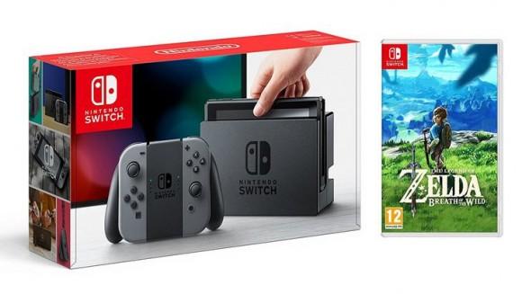 Un premier pack Nintendo Switch avec The Legend of Zelda : Breath of the Wild