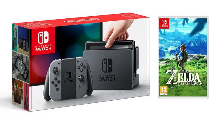 Un premier pack Nintendo Switch avec The Legend of Zelda : Breath of the Wild
