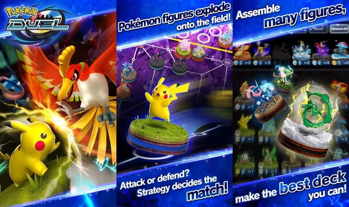 pokemon duel captures