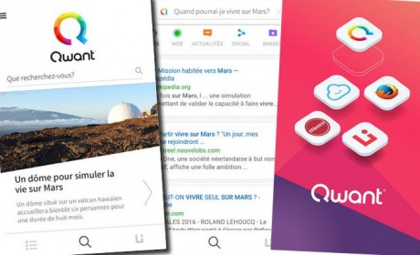 Qwant lance son application mobile sécurisée (Android/iOS)