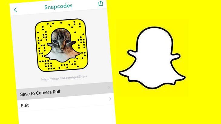 Snapchat se met à jour : le partage des liens simplifié grâce à des snapcodes