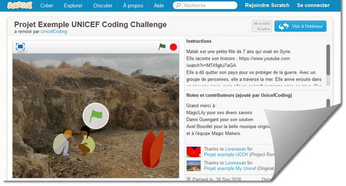 Unicef challenge coding