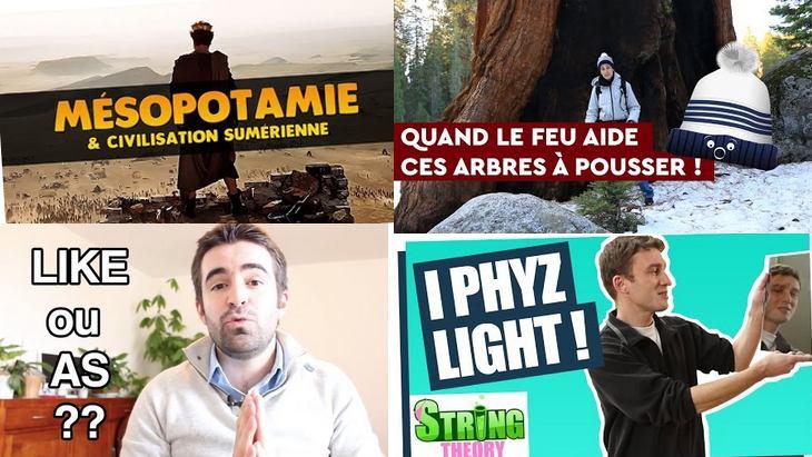 Apprendre avec YouTube #12 : les 6 vidéos de la semaine avec Science Etonnante, Les petits aventuriers