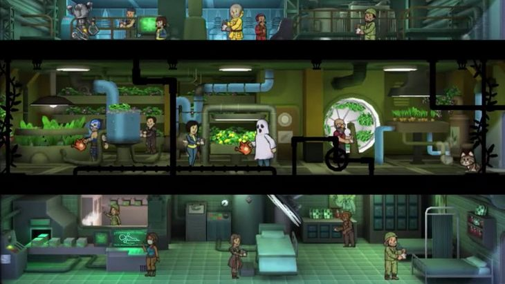 Fallout Shelter disponible sur Xbox One et Windows 10 !