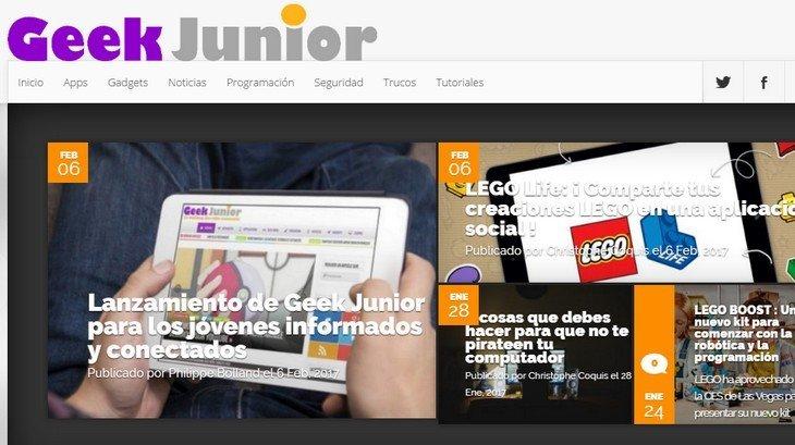 Geek Junior lance une version en espagnol !