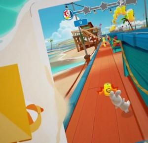 Les Lapins Crétins reviennent dans Crazy Rush, un jeu sur Android, iPhone et iPad