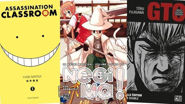 5 mangas pour aimer tes profs (ou pas…)