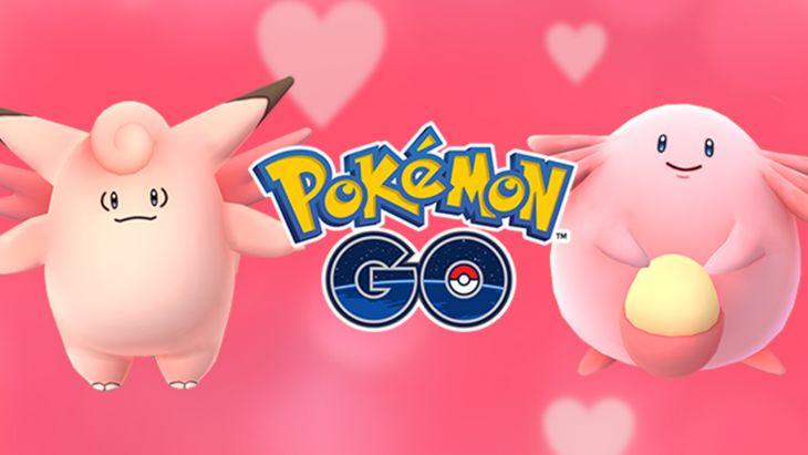 Pour la Saint-Valentin, Pokémon GO voit la vie en rose