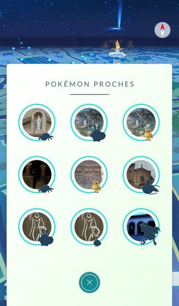 Un tracker via des images