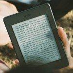 reading e-book