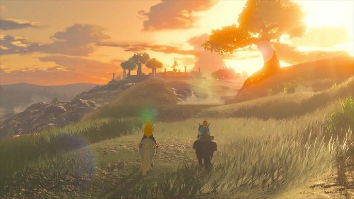 The Legend of Zelda Breath of the Wild : un trailer magnifique