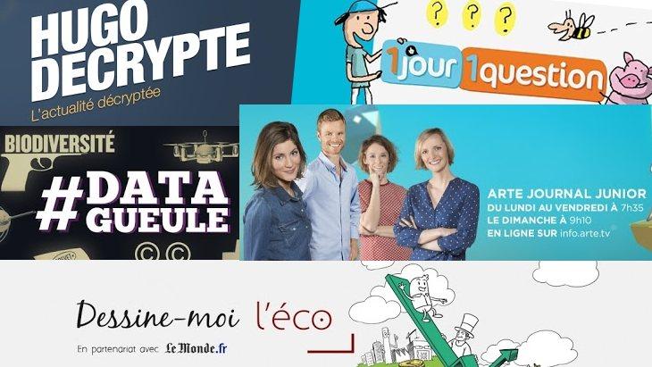 Les 6 chaînes Youtube pour décrypter l'actualité #SMPE2018