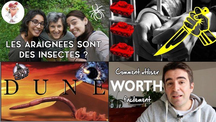 Apprendre avec YouTube #19 : 6 vidéos avec Science étonnante, Les Patates Douces…