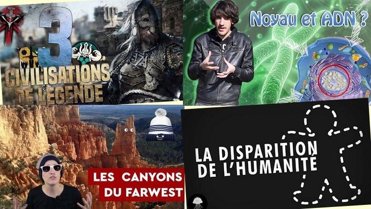 Apprendre avec YouTube #21 : 6 vidéos avec DirtyBiology, Axolot, Biosfear…