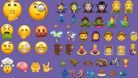 Découvre les 69 nouveaux Emojis qui vont débarquer dans ton smartphone