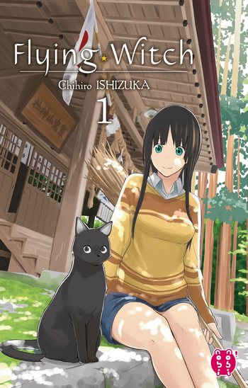 flying witch manga volume-1