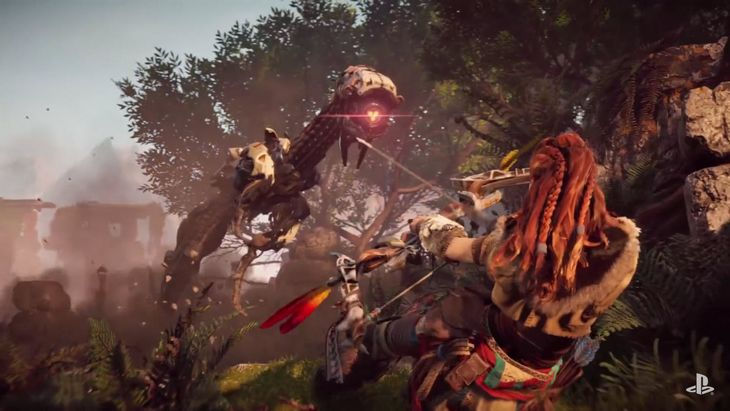 Un bundle PS4 accompagne Horizon Zero Dawn