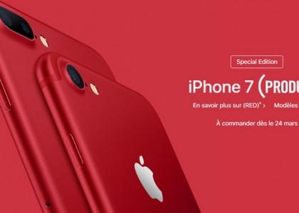 Apple lance un iPhone rouge et un nouvel iPad moins cher