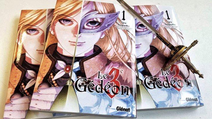 Le 3ème Gédéon : le manga sur la révolution française ! (notre avis)
