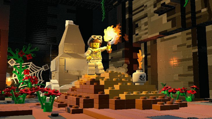 Attention Minecraft, LEGO Worlds est dispo sur PS4, Xbox One et PC !