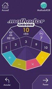 Mathador Chrono
