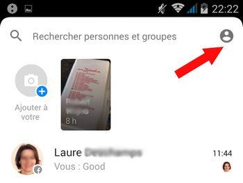 Paramètre Messenger