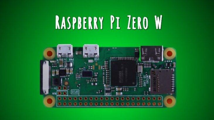 Le nouveau Raspberry Pi Zero W ajoute le Wi-fi et le Bluetooth
