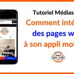 Tutoriel web - Création applis mobiles Teen-Code