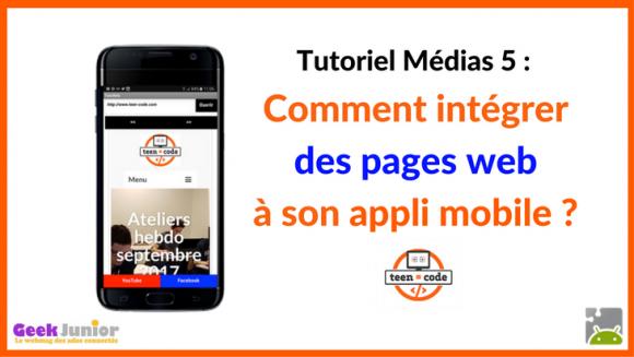 Création d'applications mobiles : comment intégrer des pages web à son appli ?