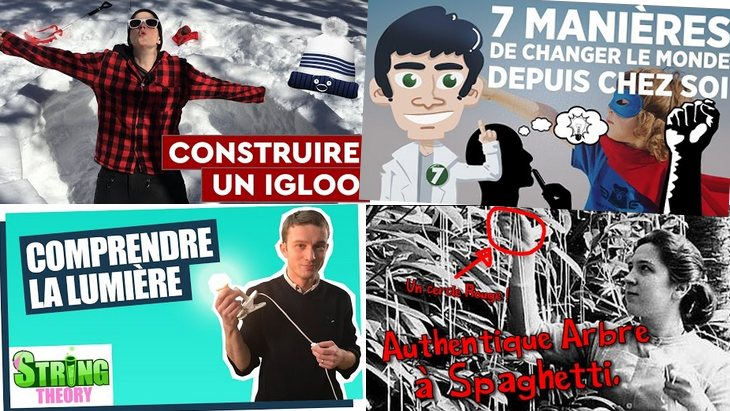 Apprendre avec YouTube #23 : Doc Seven, String Theory, Les petits aventuriers…