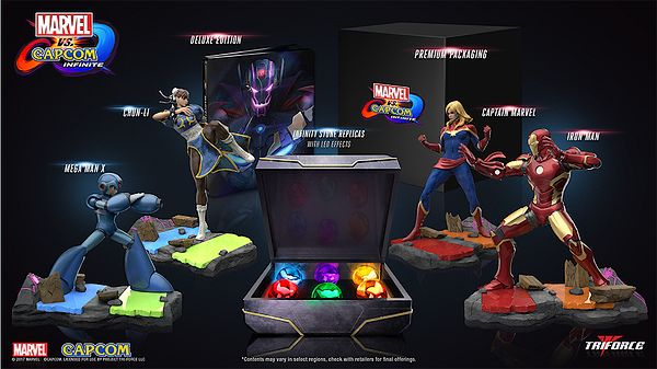 capcom marvel figurine