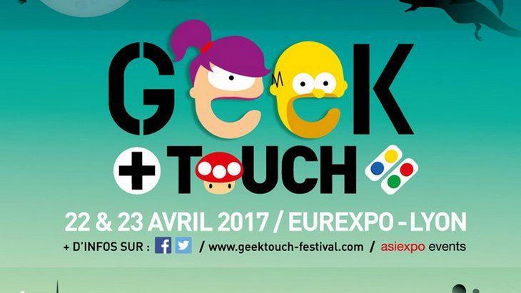 Japan Touch Haru / Geek Touch : le rendez-vous geek à Lyon les 22 et 23 avril
