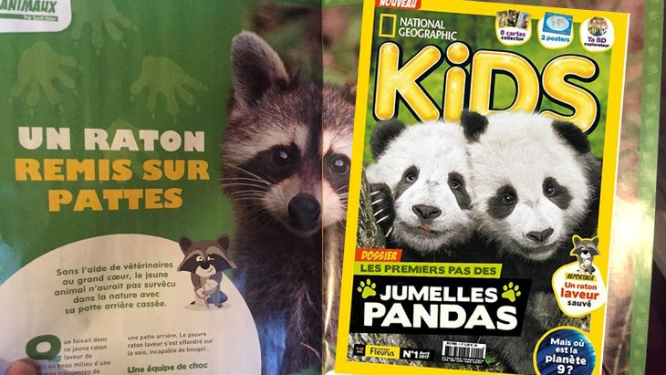 National Geographic lance sa version pour les kids