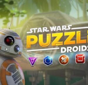 Le jeu mobile du jour : Star Wars Puzzle Droids (App Store, Google Play)