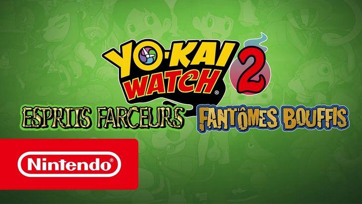 Yo-kai Watch 2  : les deux nouveaux jeux disponibles sur 3DS