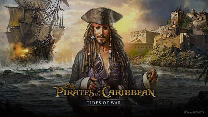 Le jeu mobile du jour : Pirates of the Caribbean Tides of War (App Store / Google Play)